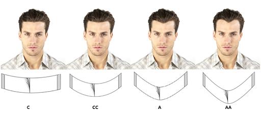çin'den protez saç siparişi verirken contour front a dikkat edin