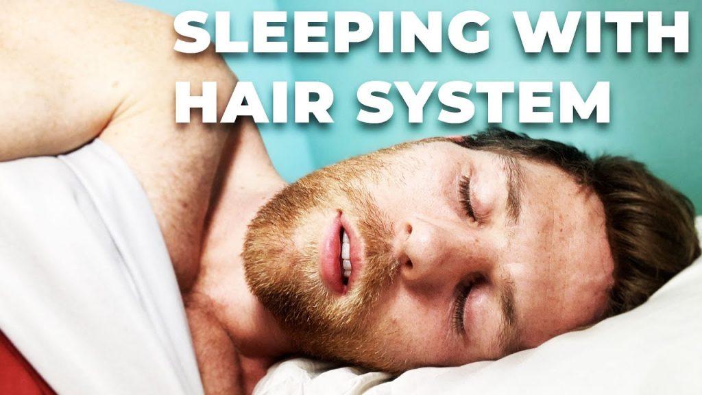 protez saç ile uyumak